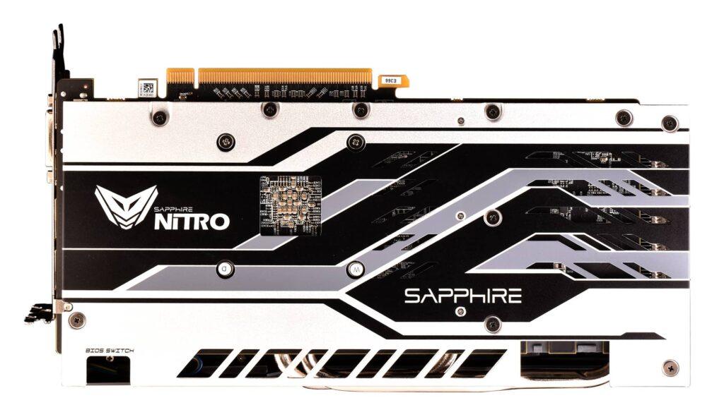Бэкплейт Sapphire RX 580 Nitro+