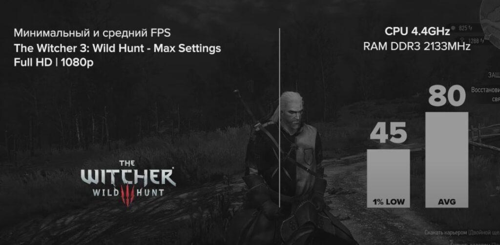 I7 4770K + GTX 1660 Super в The Witcher 3: Wild Hunt (2015)