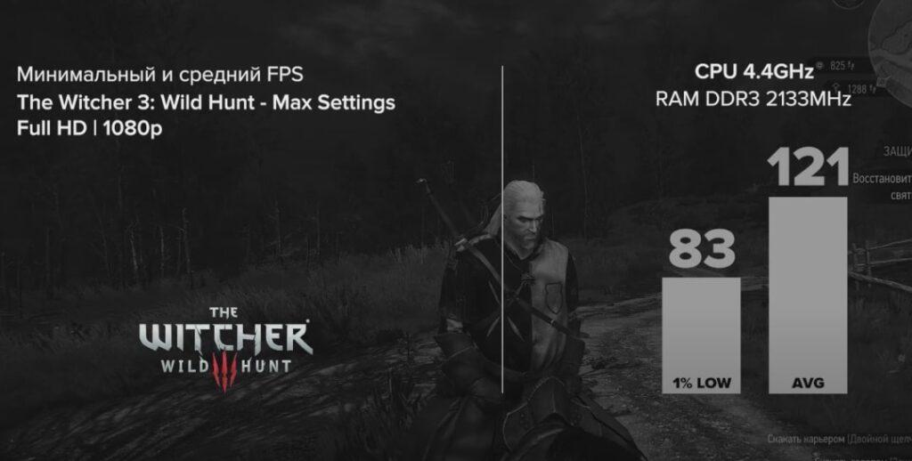 I7 4770K + RX 5700 XT в The Witcher 3: Wild Hunt (2015)